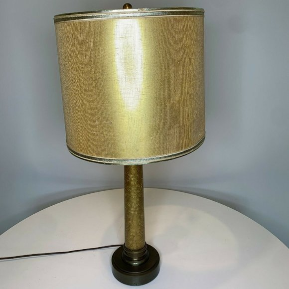 vintage Paul Hanson Table lamp Mid Century Modern